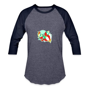 Psychedelic Lion - Baseball T-Shirt