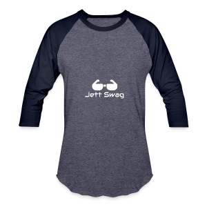 Jett Swag Sun Glasses White - Baseball T-Shirt