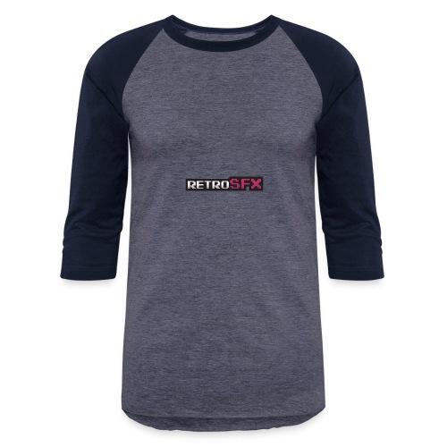 RetroSFX logo - Baseball T-Shirt