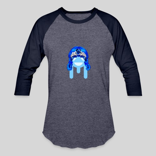 ALIENS WITH WIGS - #TeamMu - Baseball T-Shirt