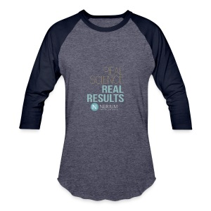 Real Science Real Results Nerium - Baseball T-Shirt