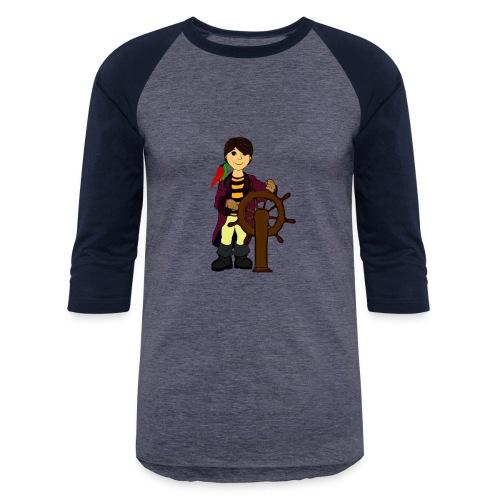 Alex the Great - Pirate - Baseball T-Shirt