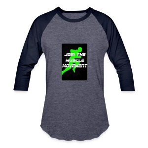 muscle movement - Baseball T-Shirt