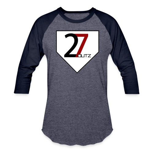 27 Outz - Home Plate - Baseball T-Shirt