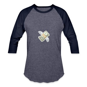 Money With Wings - Baseball T-Shirt