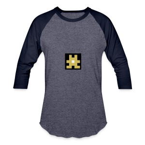 YELLOW hashtag - Baseball T-Shirt