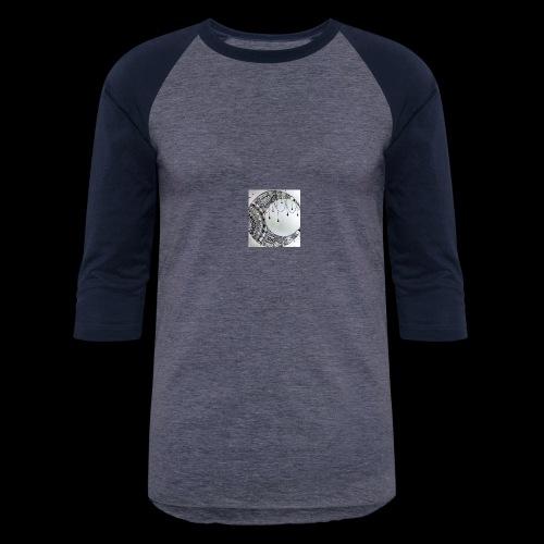 Black Grey Dream Moon Catcher - Baseball T-Shirt