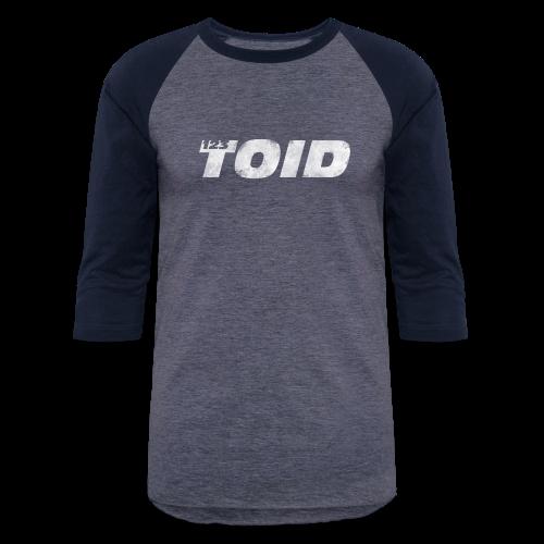 123Toid Retro look - Baseball T-Shirt