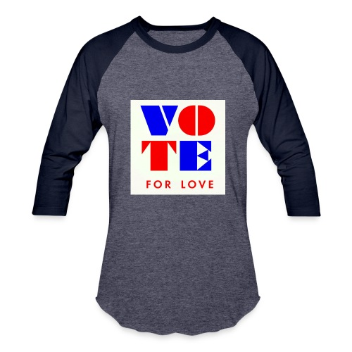vote4love-sample - Baseball T-Shirt