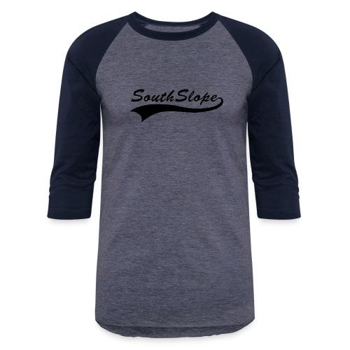 SouthSlope-BLK - Baseball T-Shirt