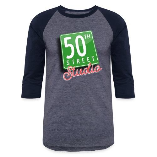 50th Street Studio LOGO - Unisex Baseball T-Shirt