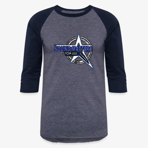 SOUND MATTERS Badge - Unisex Baseball T-Shirt