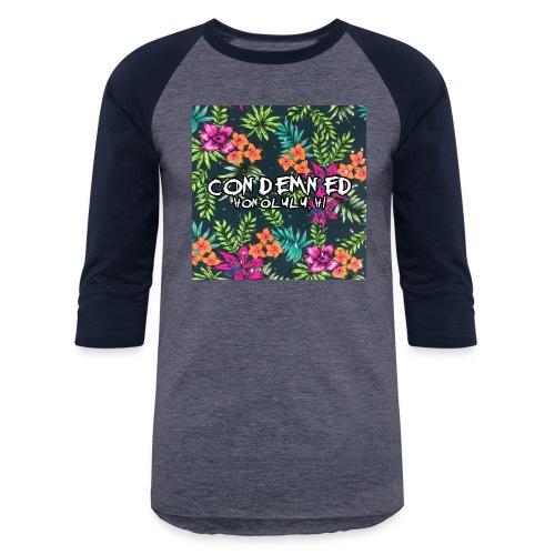 Floral Pattern - Baseball T-Shirt