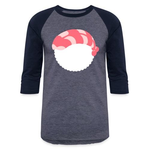 Sushi shrimp - Unisex Baseball T-Shirt
