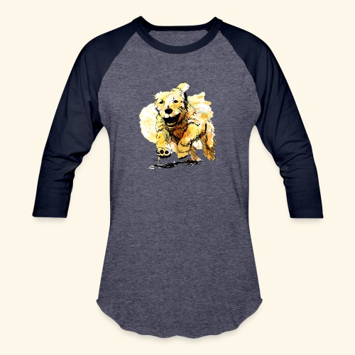 oil dog - Baseball T-Shirt