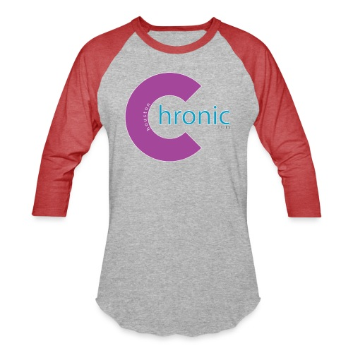 Houston Chronic - Purp C - Unisex Baseball T-Shirt
