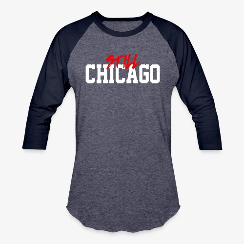 Chicago 4ever - Baseball T-Shirt