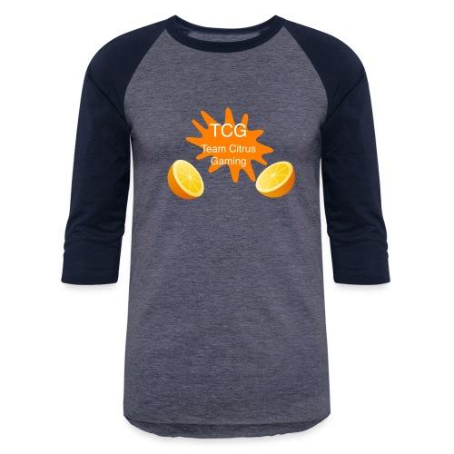 splash print design - Unisex Baseball T-Shirt