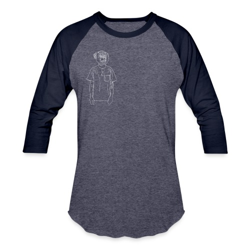 Hipster Monkey - Baseball T-Shirt