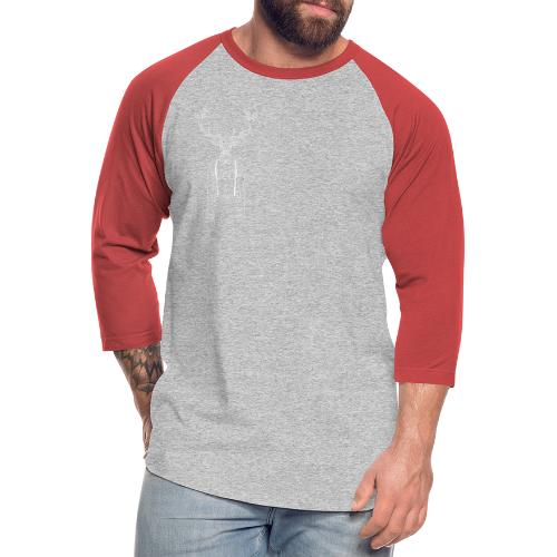 Hipster Stag - Unisex Baseball T-Shirt