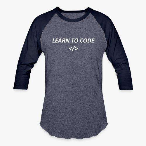 Learn to code - Baseball T-Shirt