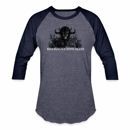 Rendezvous with death - Baseball T-Shirt