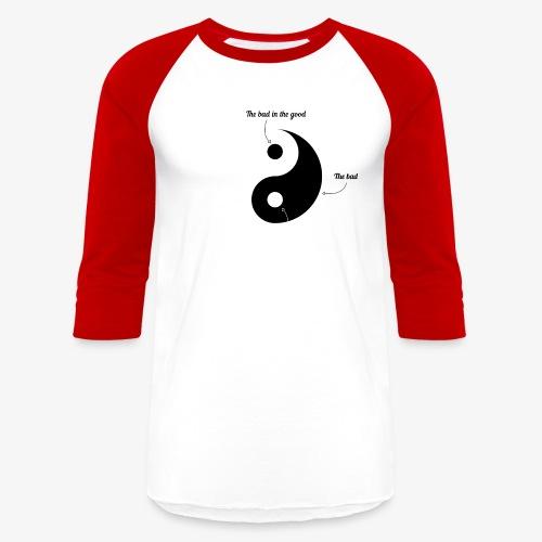 Ying-Yang - Baseball T-Shirt