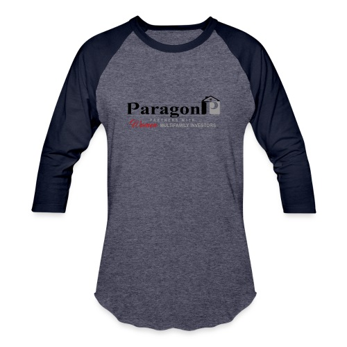 Shop Paragon Investment Partners Gear - Unisex Baseball T-Shirt