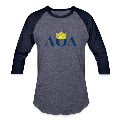 Crown Letters - Baseball T-Shirt