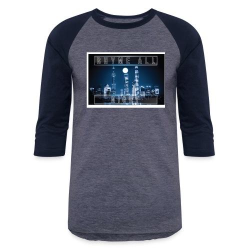 Rhyme All Night Tank - Baseball T-Shirt