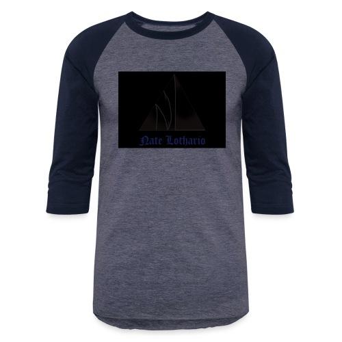Black Logo - Unisex Baseball T-Shirt