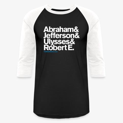 CIVIL WAR LEADERS - Baseball T-Shirt
