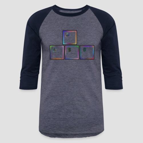 WASD - Unisex Baseball T-Shirt