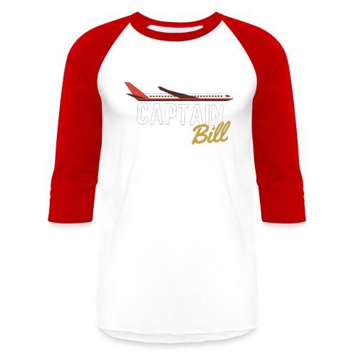 Captain Bill Avaition products - Baseball T-Shirt