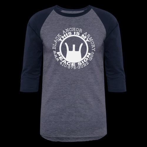 Peace Sign - Unisex Baseball T-Shirt