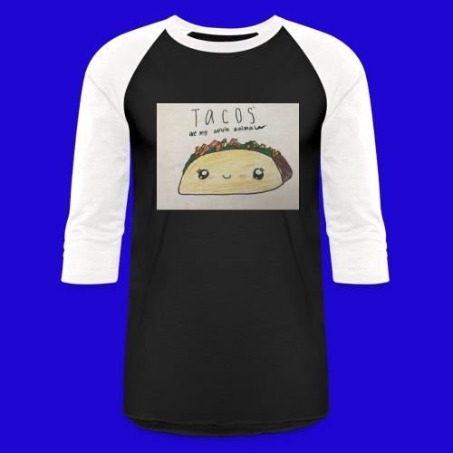 Tacos are my Spirit Animal - Baseball T-Shirt