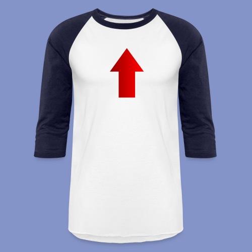 Self-Describing T-Shirt - Unisex Baseball T-Shirt