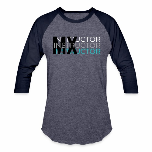 MX Gym Minimal Hat 1 - Unisex Baseball T-Shirt