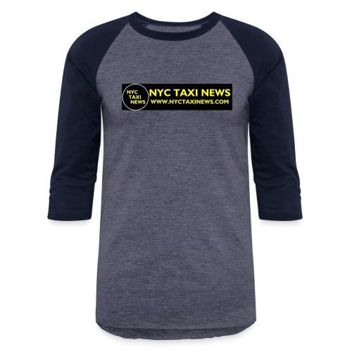 NYC TAXI NEWS - Baseball T-Shirt