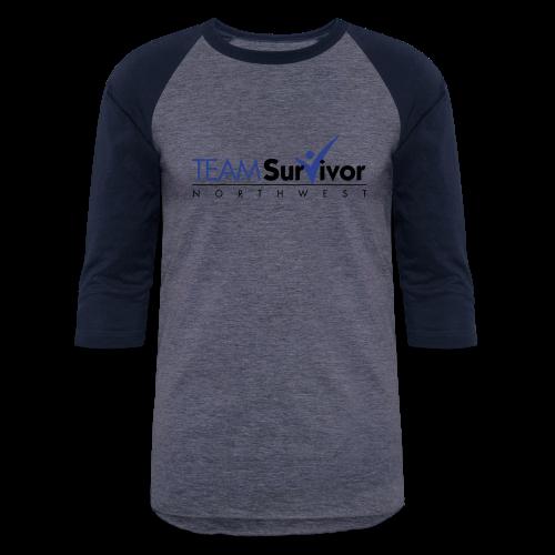TSNW logo - Baseball T-Shirt