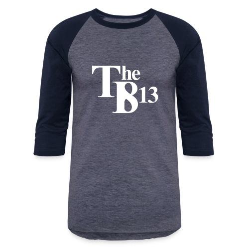 TBisthe813 WHITE - Unisex Baseball T-Shirt