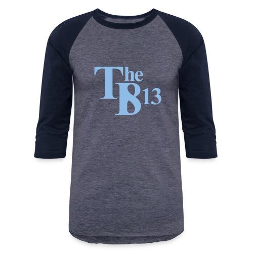 TBisthe813 Columbia Blue - Unisex Baseball T-Shirt