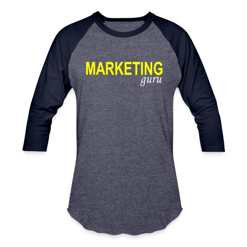 Marketing Guru - Baseball T-Shirt