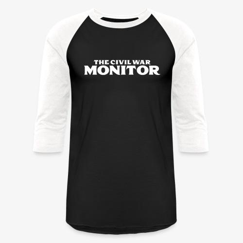 CWM LOGO WHITE - Baseball T-Shirt