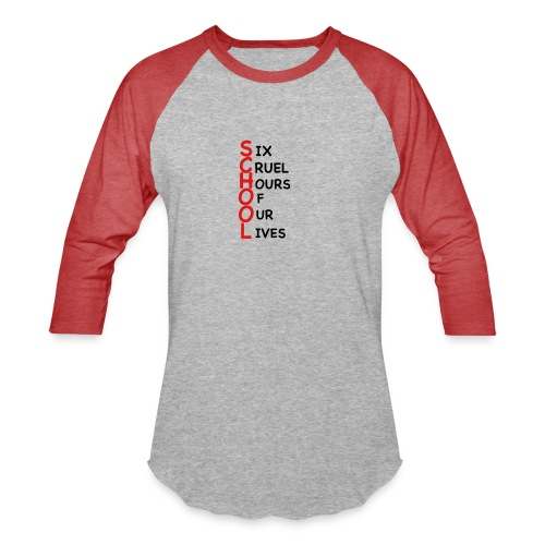 School - Baseball T-Shirt