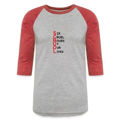 School - Unisex Baseball T-Shirt