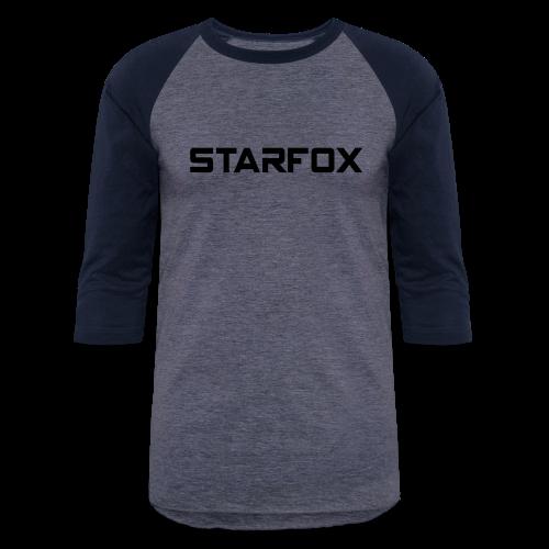 STARFOX Text - Baseball T-Shirt