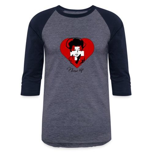 nurselife - Baseball T-Shirt