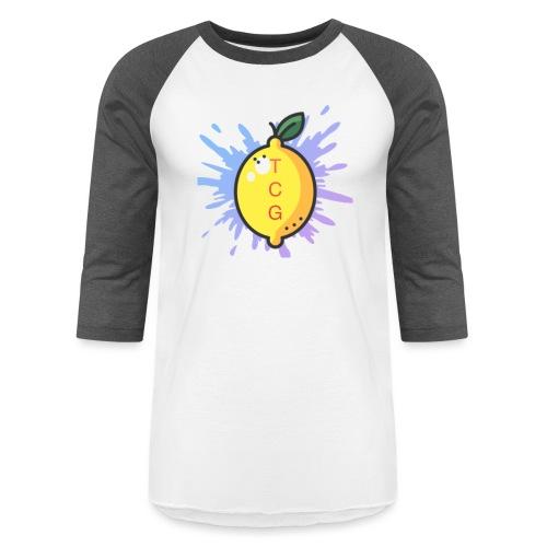 lemon splash- TCG - Unisex Baseball T-Shirt