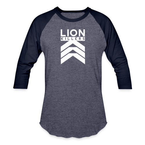 Lion Killers Front Logo - Dark Range - Baseball T-Shirt